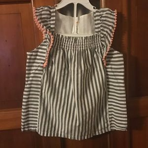 2 Gymboree spring sz 7 tops. Both new, one NWT